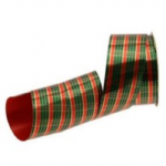 POLYPROPYLENE TARTAN RIBBON 50MM RI7076